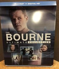 Bourne Ultimate Collection (Blu-ray + Digital HD, 2016, 5-Discs) Inc Jason Bourn