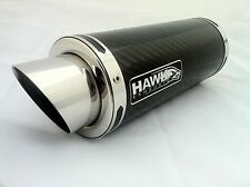 Kawasaki ZX7R 1996 - 2003 Hawk GP Carbon Fibre Race Exhaust Silencer Can