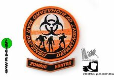 ill Gear eXtInCt Department of Biohazard War Defense Patch Orange/Black