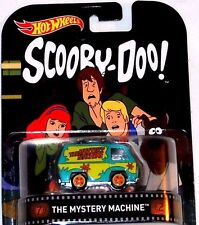 HOT WHEELS RETRO ENTERTAINMENT SERIES SCOOBY DOO MYSTERY MACHINE