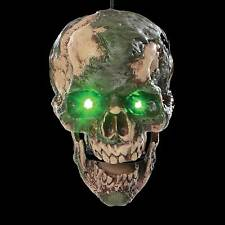Animated Scary UNDEAD FRED SEVERED ZOMBIE HUMAN HEAD Halloween Horror Prop