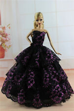 Fashion Princess Party Dress/Evening Clothes/Gown For Barbie Doll S343P