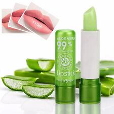 Impermeable Aloe Vera Barras De Labios Maquillaje Mate Pintalabios lápiz labial
