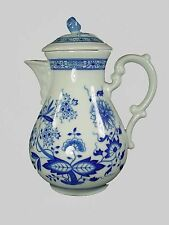 HUTSCHENREUTHER china BLUE ONION pattern Coffee Pot & Lid - 6 cup
