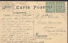 Genealogy Postcard - Family History - Clarke - Arras - Pas De Calais   U617