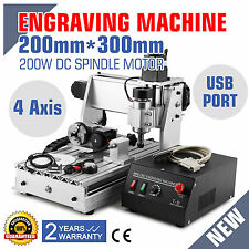 4 Axes USB Laser Engraver 3020T Fraiseuse Graveur Machine Milling coupe CUTTING