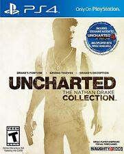 NEW Uncharted The Nathan Drake Collection (Sony Playstation 4, 2015)