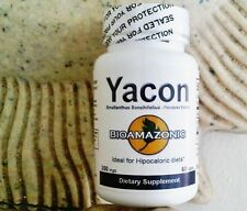 YACON ROOT herb bark  KOSHER CAPSULES DIABETIC sugar BLOOD PRESSURE  60 count