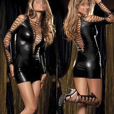 Sexy Lingerie Women's Underwear Teddy Metallic Elastic Clubwear Outfit Nightwear