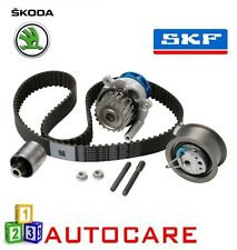 Skoda Octavia 1.9 TDI Engine Timing Belt Kit Water Pump Cambelt Chain By SKF