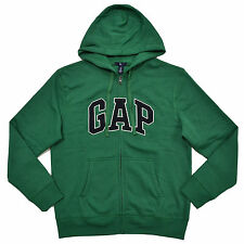 Gap Hoodie Zip Up Jacket Mens Sweatshirt Arch Logo Fleece Lined Xs S M L Xl Xxl
