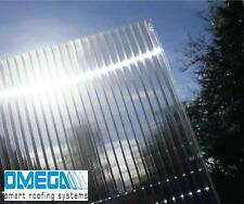 16mm Polycarbonate Roofing Sheet - Various Colours & Sizes, TAPED