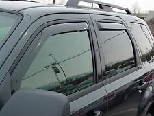 In-Channel Wind Deflectors for 2008 - 2012 Ford Escape