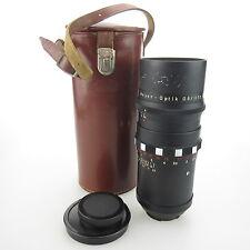 Für Exa Meyer Optik Primotar 3.5/135 15 Blades Objektiv / lens mit case