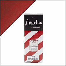 Angelus Brand RED Leather Dye with Applicator in 3 Fl. Oz.