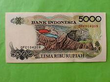 Indonesia 5000 Rupiah 1992 (UNC)