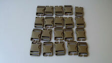 "LOT OF 20 New USMC Coyote Tan  1.5""  1 1/2"" Buckles"