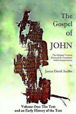 The Gospel of John: The Gospel of John - Volume One (2014, Paperback)