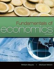 Fundamentals of Economics by Michael Melvin and William Boyes (2011, Paperback)