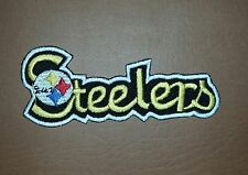 NFL Steelers Embroidered Iron/ Sew on Patch/ Badge/ Logo