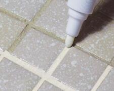 TILE WHITE GROUT PEN WHITENER RESTORER REVIVER KITCHEN BATHROOM TILING GROUTING