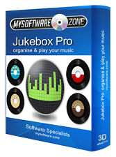 MUSIC JUKEBOX MP3 Media Player PRO Professional software per CD di Windows
