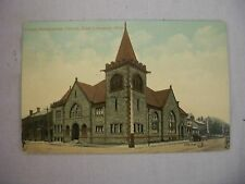 VINTAGE POSTCARD OF THE UNITED PRESBYTERIAN CHURCH IN EAST LIVERPOOL, OHIO 1911