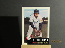1991 Topps Archives 1953 #244 Willie Mays