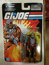 2017 GI Joe Collector Club Exclusive FSS 5.0 Flamethrower Charbroil - IN STOCK
