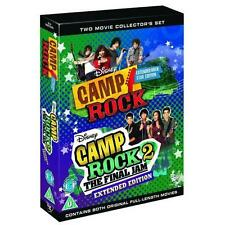 Camp Rock 1 + 2 Region 2 ( Disney 2 Discs) New