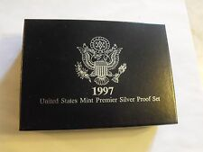 1997 SILVER PROOF SET with the DELUXE PACKAGING!!