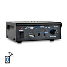 PCA12BT 2 x 25W Bluetooth Stereo Mini Power Amplifier AUX-In USB Charge Port