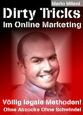 DIRTY TRICKS im Online Marketing - Lernen Sie die Profi-Tricks -div. Lizenzarten