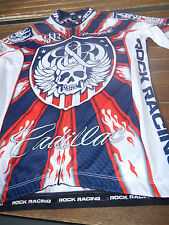 Original Rock Racing USA Champion in White Blue Red Größe S Top Rar!!!