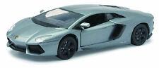 Lamborghini Aventador LP700-4 Silver 1:24 Model 71256S NEW RAY