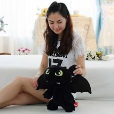 "New Cute 12"" How to Train Your Dragon Plush Toothless Night Fury Soft Toy Doll"