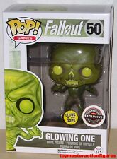 FUNKO POP GAMES FALLOUT GLOWING ONE #50 GITD GAMESTOP EXC Vinyl Figure IN STOCK
