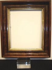 Antique East Lake Gold Faux Burl Wood Frame Deep~15x17 / 10 1/4 x 12 inside