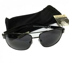 Fletcher and Lowe Men's Black Fashion Sunglasses & Soft Protective Sleeve New