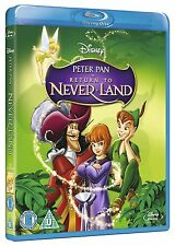 PETER PAN 2 Return to Neverland Blu-Ray Disney BRAND NEW Free Shipping