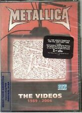 DVD METALLICA THE VIDEOS 1989 2004 + EXTRAS SEALED NEW