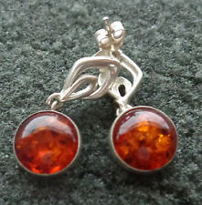 BALTIC  COGNAC   AMBER  earrings  WOMEN  #8