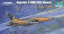 Trumpeter 1:32 Republic F-105G Wild Weasel Plastic Model Kit TSM2202