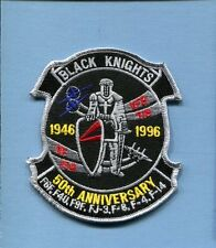 VF-154 BLACK KNIGHTS 50th ANNI GRUMMAN F-14 TOMCAT US Navy Squadron Jacket Patch