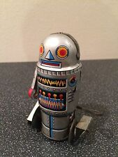 Vintage tin robot 7 noguchi made in japan circa 1960s wind up clockwork