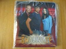 "NEW!!  INKWORKS  ""SMALLVILLE"" TRADING CARD BINDER! LOOSELEAF (red background)"