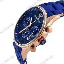 IMPORTED EMPORIO ARMANI AR5806 ROYAL BLUE CHRONOGRAPH MENS WATCH