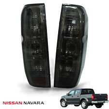 For Nissan Frontier NAVARA Tekna D40 Tail Light Rear Lamp Black Smoke Lens