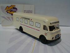 Brekina 57530 - MAN 635 Möbelwagen Deutsches Rotes Kreuz Blutspendedienst 1:87