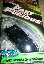 Fast and Furious 1:64 1997 Chevy Corvette Coupe series 6 Racing Champions